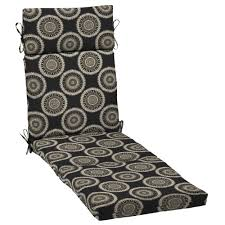 Plantation Patterns Seat Cushions by Blue Chaise Lounge Cushions Outdoor Cushions The Home Depot