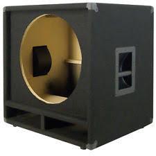 empty 15 inch speaker cabinets dj bass speakers ebay
