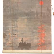 Burnt Bamboo Roll Up Blinds by Buy Impression Sunrise Bamboo Blinds Online Wtcl09 0508