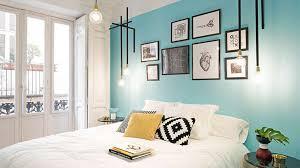 une chambre du bleu pour une chambre apaisante