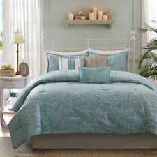 Beachy Comforters Beautiful Reversible Blue Grey Ocean Beach Coastal Nautical Shell