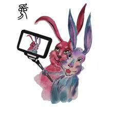 buy rabbit tattoos and get free shipping on aliexpress com