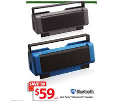 bluetooth speaker black friday deals jam party bluetooth speaker deal at walmart black friday is 59 each