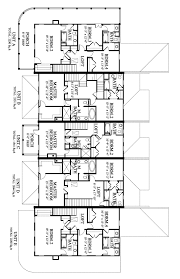townhouse plan daniels orchard townhouse b house plan 05452b design from