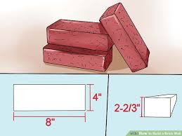 How To Build A Shed Against House by How To Build A Brick Wall With Pictures Wikihow