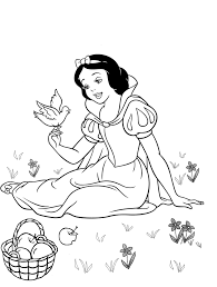 snow white coloring book disney princess coloring pages snow white coloring home