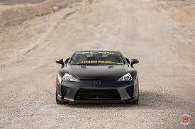 lfa lexus black marvelous black lexus lfa sitting on bronze vossen wheels feast