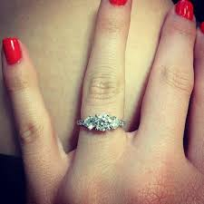 3 engagement ring 20 gorgeous three engagement rings you will want tulle