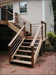 50 putting stairs on a deck deck stairs bscconstruction 039 s