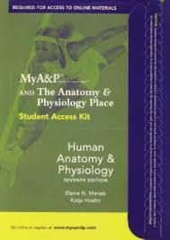 Human Anatomy And Physiology Marieb 7th Edition Human Anatomy By Marieb Elaine N Hoehn Katja Abebooks