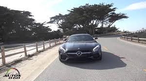 mercedes espa l 2016 mercedes amg gt s test drive 17 mile drive at pebble