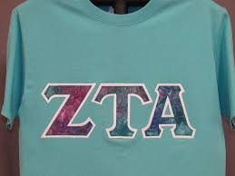 sorority letters shirt scuba blue shirt in various styles sizes