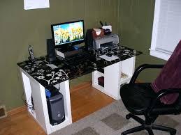 Desk Computer Case by Desk Best Computer Desk For Dual Monitors Coolest Desktop