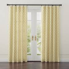 Gold And White Curtains Gold On White Lattice Motif Creates A Bold Yet Classic Design
