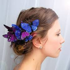 butterfly for hair ummm yes i need to try this i think i shall make some butterfly