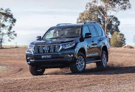toyota makes 2018 toyota prado revealed on sale in australia in november