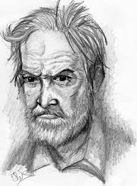 old bearded man by kopale on deviantart