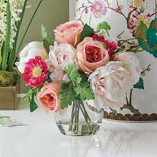 peony arrangement blush pink peony arrangement gump s