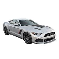 ford mustang scoops roush 421870 mustang quarter panel side scoops unpainted 2015 2017