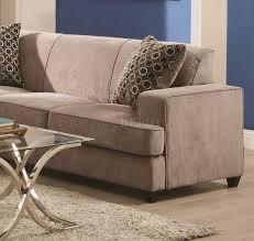 sectional sofa by coaster 500727 in beige fabric w sleeper