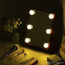vanity makeup mirror with light bulbs hollywood tabletops makeup lighted mirror vanity light with dimmer