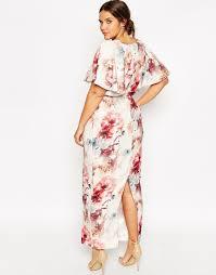 plus size embellished kimono sleeve maxi dress plus size fashion