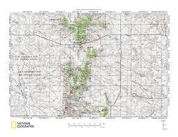 Sd Map Moreau River Drainage Basin Landform Origins Northwest South