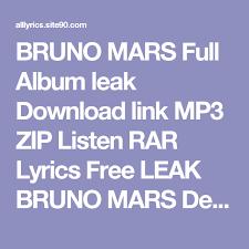 download mp3 song bruno mars when i was your man bruno mars full album leak download link mp3 zip listen rar lyrics