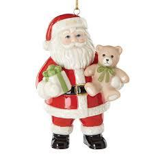 lenox tidings santa 2016 lenox ornaments santa