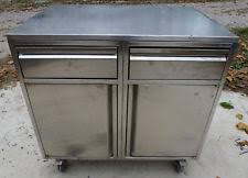 Stainless Steel Prep Table With Drawers Stainless Steel Cabinet Ebay