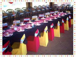 Minnie Mouse Table Covers Decoration U2013 Kyalami Venue