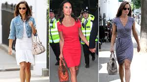 pippa middleton dress bag and style photos
