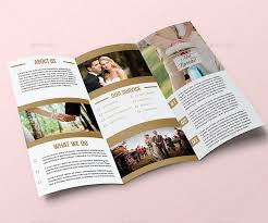 beautiful wedding programs 25 wedding program brochure templates