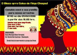 Famosos O bloco afro cultural Coisa de Nêgo abre o hoje, sexta-feira (09  &AR41