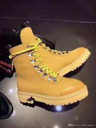 off white hiking boots 2017 winter women fashion boots size 36 40