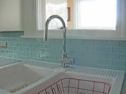 Glass Tile Installation Amazing Brilliant Clear Glass Subway Tile Backsplash Kitchen