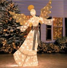 lighted christmas yard angels 69 lighted pre lit glittering christmas angel outdoor holiday yard