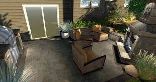Belgard Brighton Fireplace by Outdoor Makeover Contest Week 2 Help This Backyard