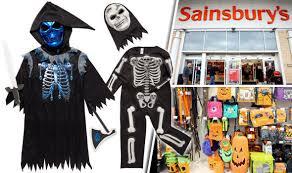 Halloween Childrens Costumes Sainsburys Customers Horrified Shocking Offensive Halloween