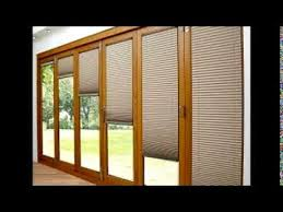 Blinds For Patio by Patio Door Blinds Youtube