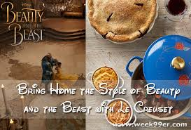 Le Creuset Disney Bring Home The Style Of Beauty And The Beast With Le Crueset