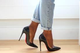 rewritten christian louboutin u0027so kate u0027 120mm black patent heels