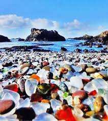 California travel bottles images Best 25 glass beach ideas glass beach california jpg