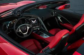 corvette stingray 2014 interior 2014 chevrolet corvette stingray convertible review automobile