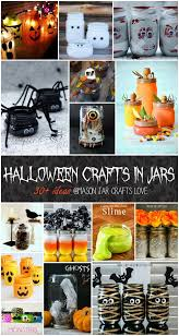 halloween in mason jars mason jar crafts crafts and halloween ideas