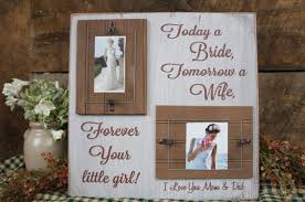 parents gift wedding today a tomorrow a forever your girl i