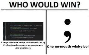 Computer Programmer Meme - who would win programmerhumor