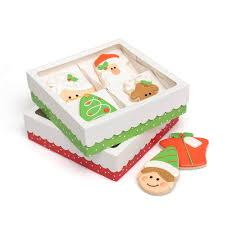 sweet sugarbelle holiday quad cookie boxes 3pk