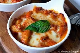 recette de cuisine italienne recette du jour gnocchi à la sorrentina les pâtes au parmesan
