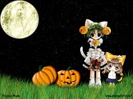 halloween background 1280x720 anime halloween wallpapers wallpapervortex com
